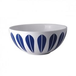 Lucie Kaas lotus bowl in dark blue, 24ø