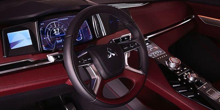 Lujo, seguridad y potencia híbrida, les presentamos la nueva SUV de #Mitsubishi...