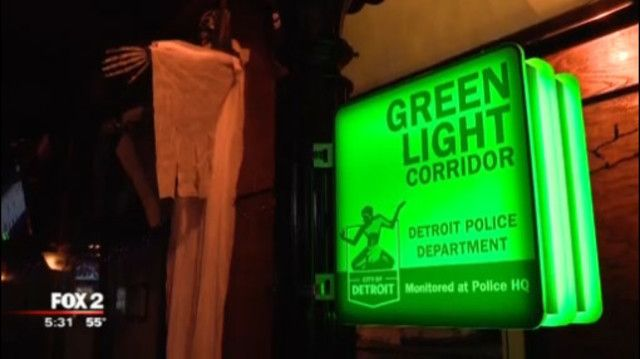 With 25 Cameras Corktown Becomes Green Light Corridor Corktown Light Green Light