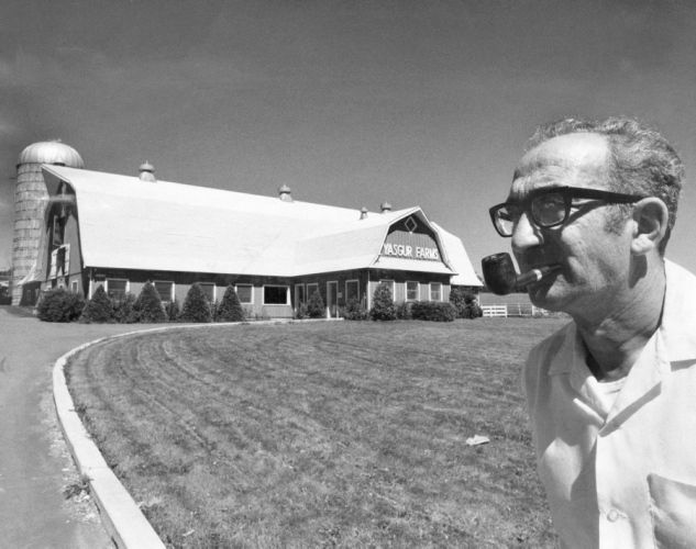 Yasgur (Yasgur's Farm - his property where Woodstock was held)