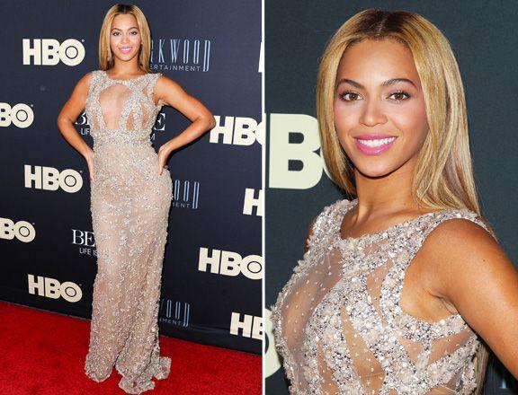 Beyonce in Elle Saab.... -- pinned using BrowserBliss