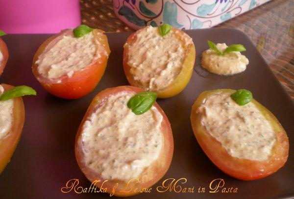 Barchette di pomodori,ricetta fresca