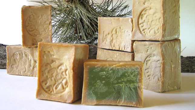 Aleppo soap has withstood the test of time since it cleans and calms even the most sensitive skin.