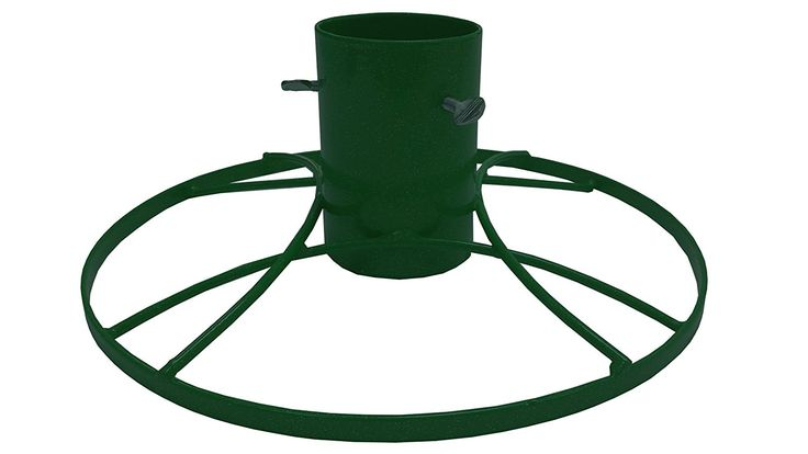 Bosmere 5-inch Contemporary Christmas Tree Stand with Green Sparkle -- For more information, visit image link. #GardenDecor