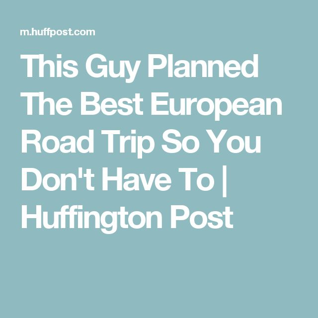 If you thought planning a road trip in the U. Randy Olson, the brilliant Ph. candidate who recently planned the best way to road trip across America, ...