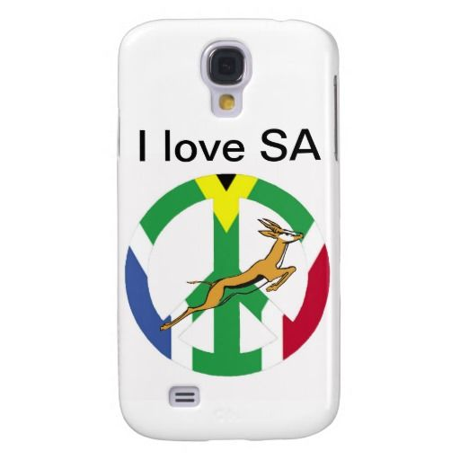 South African peace flag iPhone 4s 5s 6s case