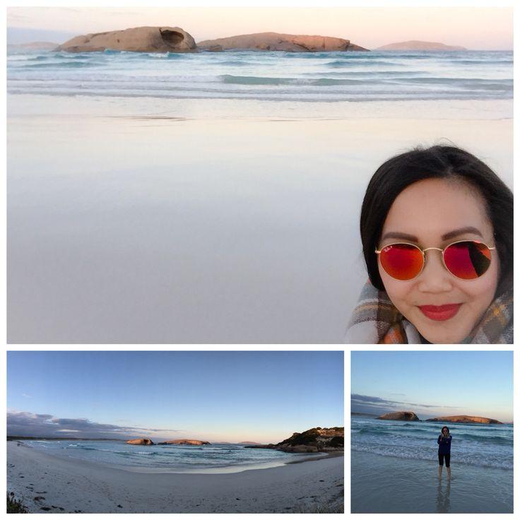 Twilight beach in Esperance, Western Australia