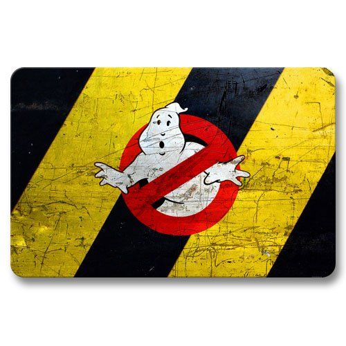 Extreme Ghostbusters Floor Pads Modern Non-skid Doormats Front Door 16x24Inch / 40x60cm @ niftywarehouse.com #NiftyWarehouse #Geek #Horror #Creepy #Scary #Movies