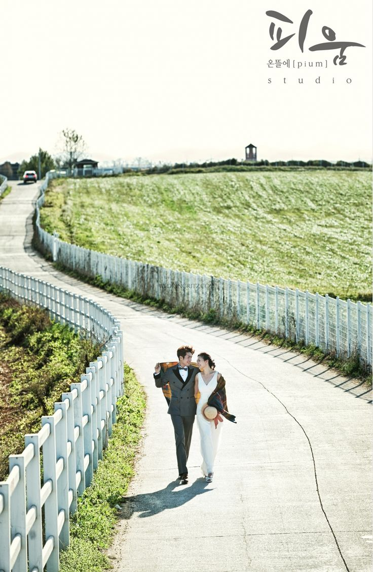 korea pre-wedding outdoor photoshoots samples