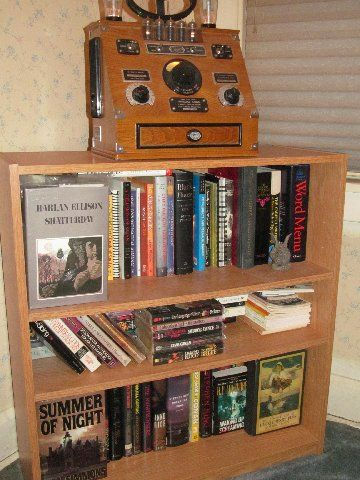 More reading material...and a radio.