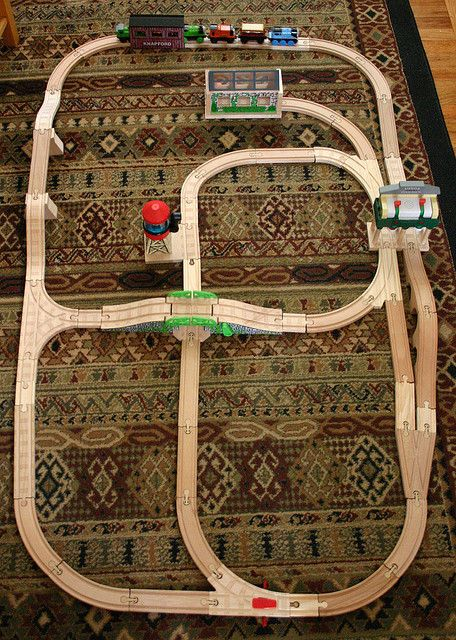 Thomas Track Layout by Wendy Copley, via Flickr