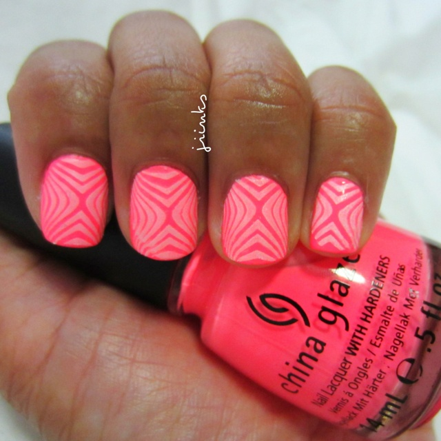 """""""Flip Flop Fantasy"""" by China Glaze. A neon pink perfect for summer!"""