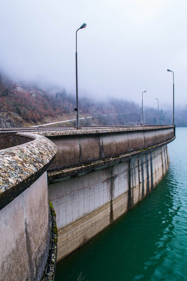 Lake Plastiras Dam, Karditsa, Greece