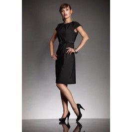 Elegancka sukienka VICTORIA - czarny