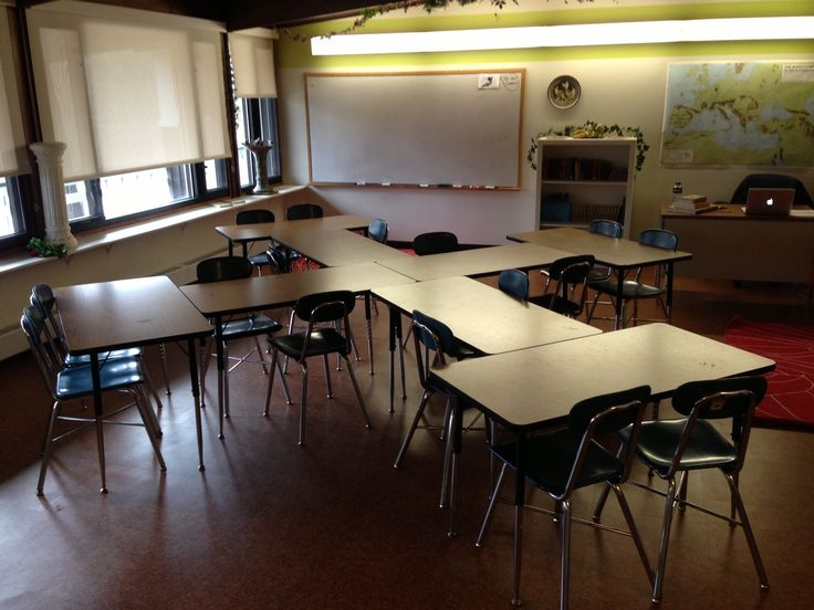 Classroom Layouts With Tables : Best ideas about classroom desk arrangement on