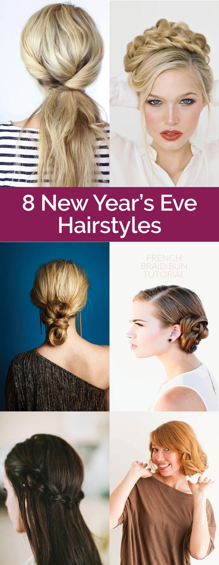 hair styles for new years eve new year s hairstyles ponies and buns 8361 | ba5fea596912fb6d492ed462da01b089