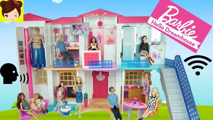 Nueva Casa Inteligente de Barbie con Wifi y Comandos de Voz - Barbie Hello Dreamhouse Demo