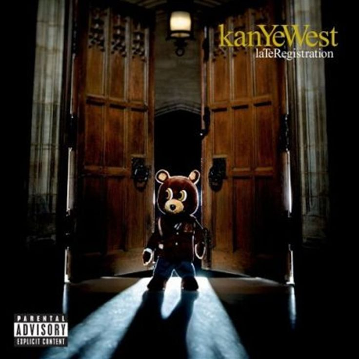 Kanye West Late Registration on 2LP Set For haters that were eager to see Kanye West hit a sophomore slump--no such luck. Late Registration doesn't replicate the novelty of his debut, College Dropout,