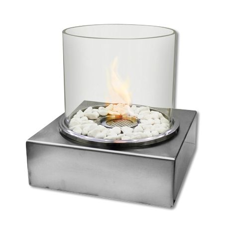 Medium Stainless Steel Burner – Silver from Eco-Flame Bio-Burners - R999 (Save 17%)