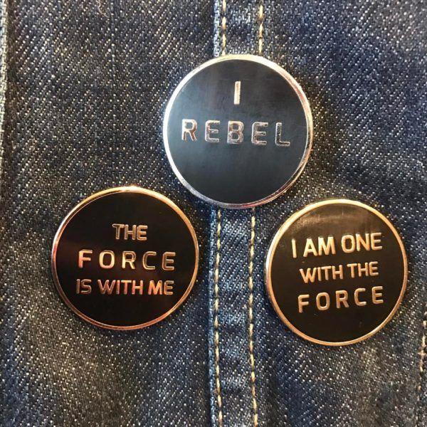 These Minimalist 'Star Wars' Pins Say It All