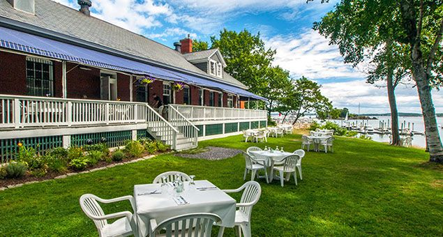 The Inn at Diamond Cove | Great Diamond Island,  Portland, Maine Visit full profile @ http://gayweddingsinmaine.com/the-inn-at-diamond-cove.html