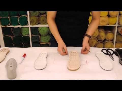 Марина Климчук - как выбрать подошву для изготовления валяной обуви - YouTube