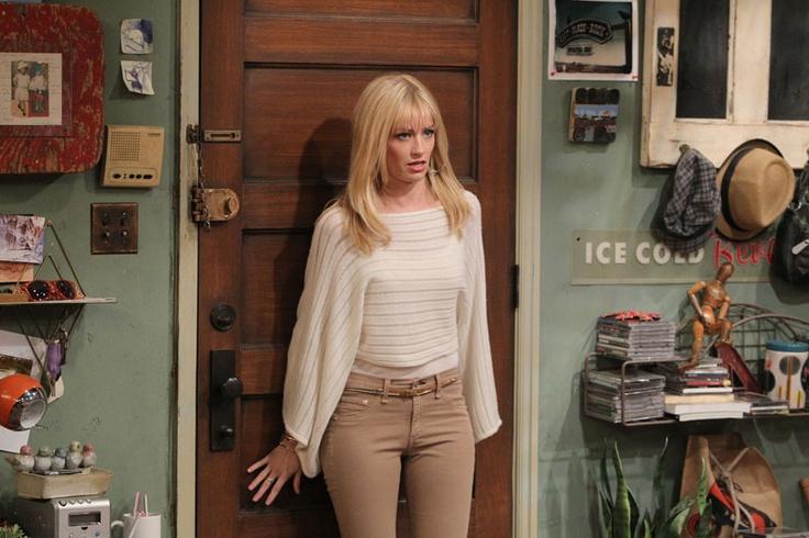 "2 Broke Girls- ""And The Spring Break"" - Beth Behrs as Caroline Channing in 2 BROKE GIRLS on CBS."
