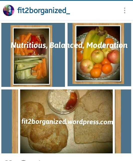 Nutritious, Balanced Moderation blog entry on fit2borganized.wordpress.com
