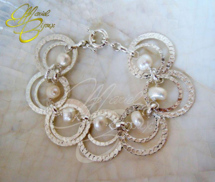 #bracciale perle di fiume