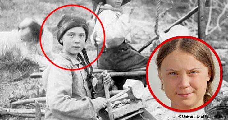 Greta Thunberg Zeitreisende