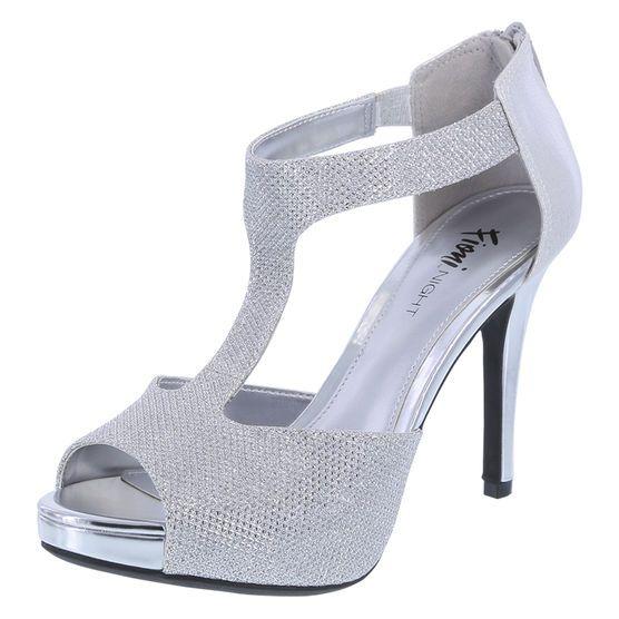 Women's Lexie T-Strap SandalWomen's Lexie T-Strap Sandal, Silver. Also in black.