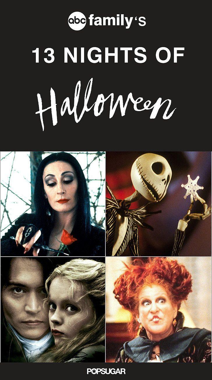 13 Nights of Halloween Full Lineup 2015   POPSUGAR Entertainment