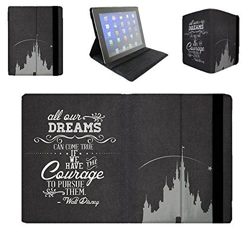 Flip Case For Apple iPad Mini 1 Flip Cover - Black Dreams Can Come True Walt Disney Quote Protective Designer Queen of Cases http://www.amazon.com/dp/B00JCBMF8S/ref=cm_sw_r_pi_dp_TZQewb0GATR6X