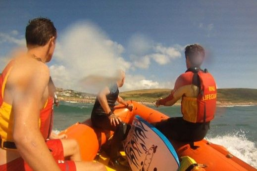 Woolacombe Lifeguards | Busy Summer | Smythen News Ilfracombe Woolacombe RNLI Lifeguards | North Devon beaches Rescue Safety Sea Swimming Surfing | Smythen Farm Holiday Cottages