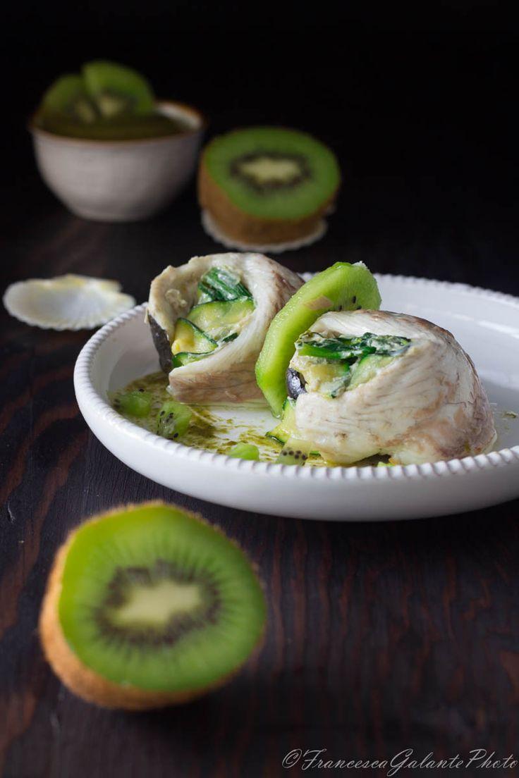 Filetto di orata con salsa al kiwi   #lovuoiquelkiwi?