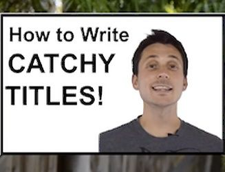 "There are TWO schools of thought on How to write a title for your video:    1. Keep it ""Catchy""   2. Keyword Relevancy"
