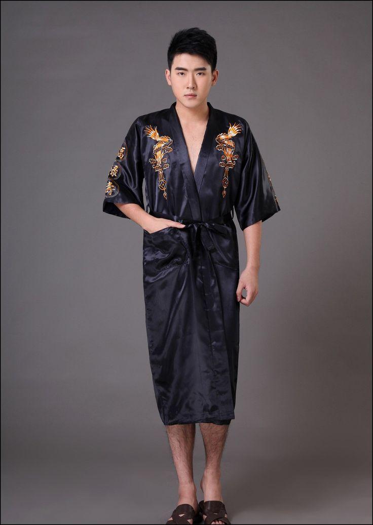 Mens Kimono Dressing Gown