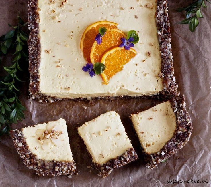 sojaturobie: Bezglutenowy i wegański mazurek bez pieczenia