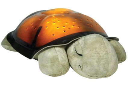 This irresistable plush turtle does much more than meets the eye. Stuffed toy by day, and imaginative nightlight by night, Twilight will transform your child's room into a mystical starry night scene – sweetly sending them into sleep. Best of all, Twilight is also educational, projecting eight actual constellations onto the ceiling – meaning lot's to learn with mum and dad.