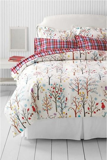 It's That Time of Year: Kid-Friendly Flannel Bedding  http://www.apartmenttherapy.com/kid-friendly-flannel-sheets-177945