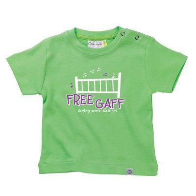 Free Gaff Baby T-Shirt by Hairy Baby