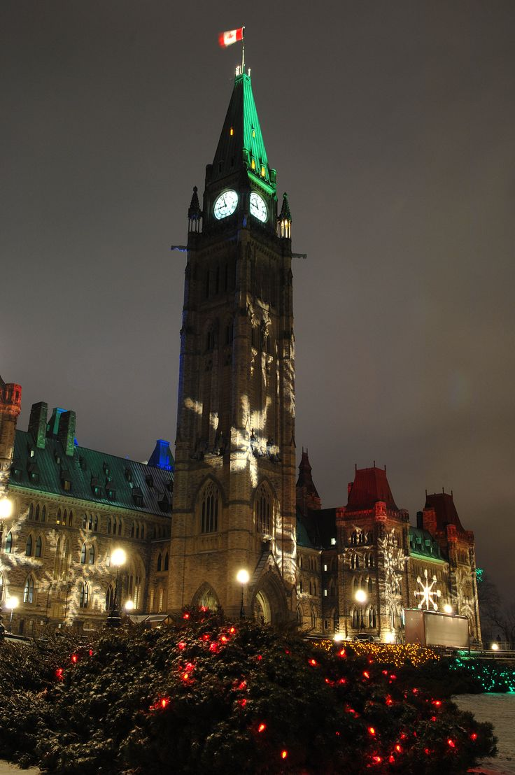 Christmas in Ottawa on at Parliament Hill