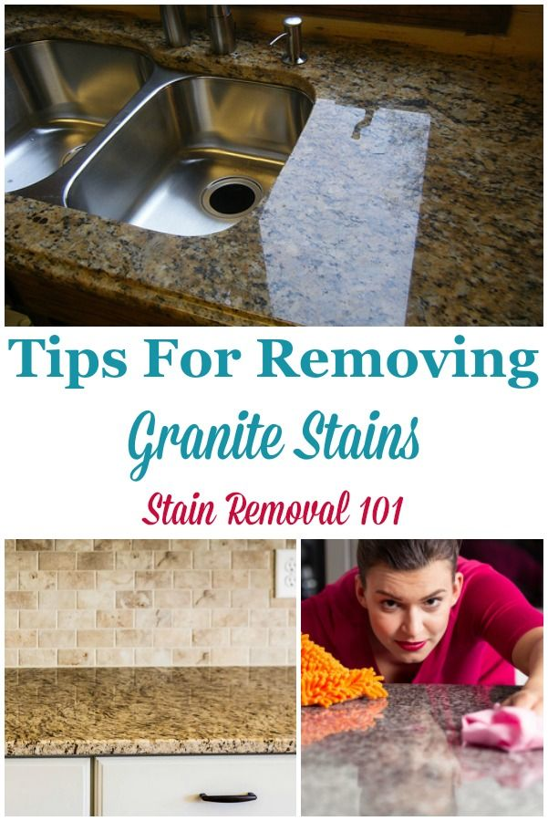 Tips For Removing Granite Stains From Countertops More House Cleaning Tips Deep Cleaning Tips Cleaning Hacks