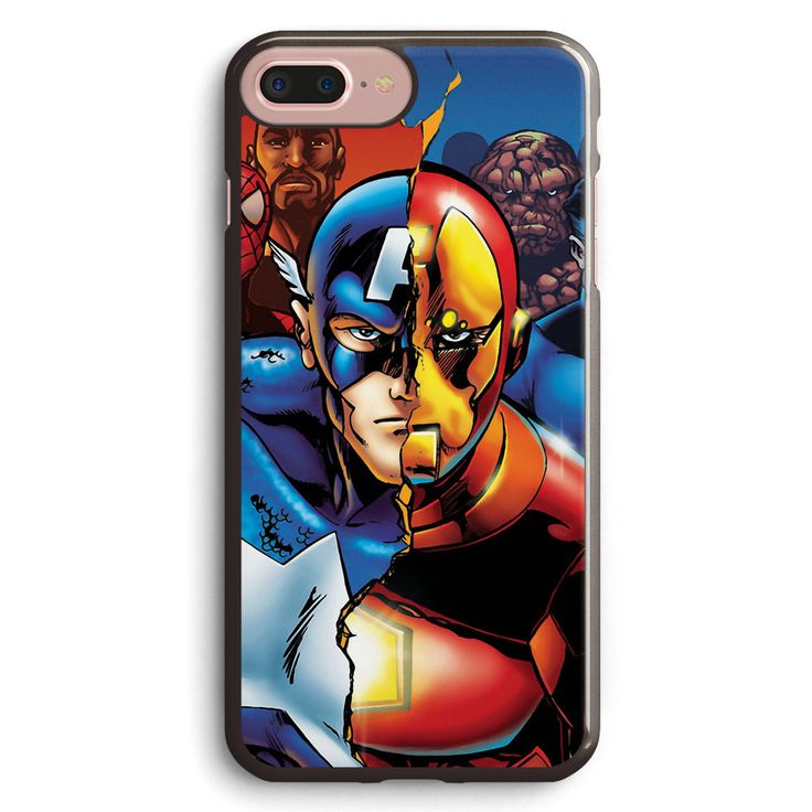 Marvel Civil War Sides Apple iPhone 7 Plus Case Cover ISVG668
