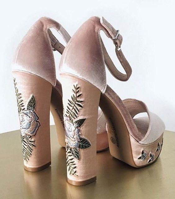 Velvet sandals by Chinese Laundry