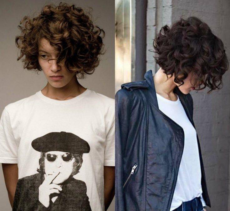 Wonderful 40 Brief Bob Curly Hair