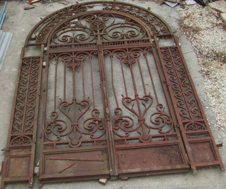 Spanish Garden Gates French Iron Gates Beautiful