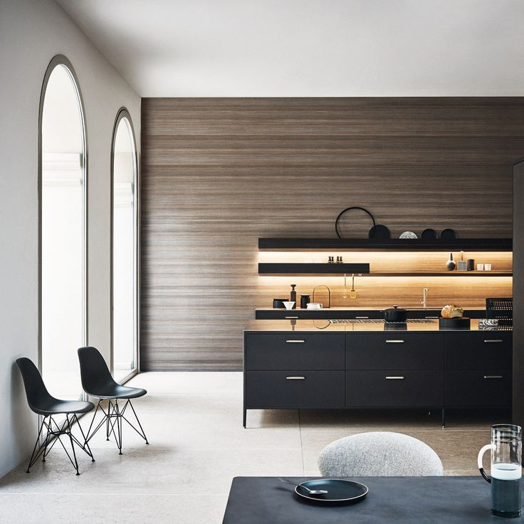Lacquered Modular Kitchen With Island UNIT   COMPOSITION 3 Unit Collection  By Cesar Arredamenti Design García Cumini Associati