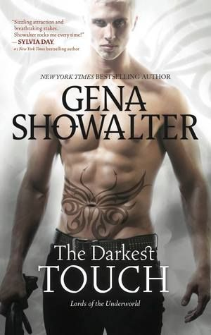 Cover Reveal: The Darkest Touch (Lords of the Underworld #11) by Gena Showalter  -On sale November 25th 2014 by Harlequin HQN -Fierce immortal warrior. Host to the demon of Disease. Torin's every touch causes sickness and death—and a worldwide plague. Carnal pleasure is utterly forbidden, and though he has always overcome temptation with an iron will, his control is about to shatter.