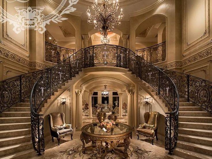 Luxury Mansion Foyer : Estate oak cr hollywood florida united states